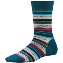 SmartWool Margarita Socks (For Women) in Deep Sea Heather - 2nds