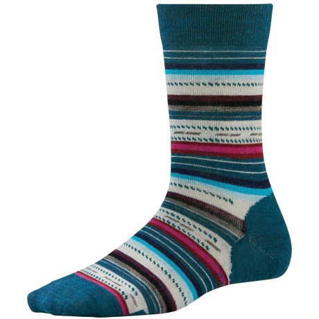 SmartWool Margarita Socks (For Women) in Deep Sea Heather