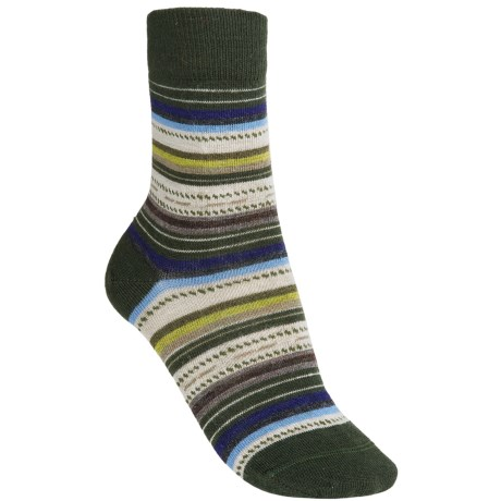 SmartWool Margarita Socks (For Women) in Forest