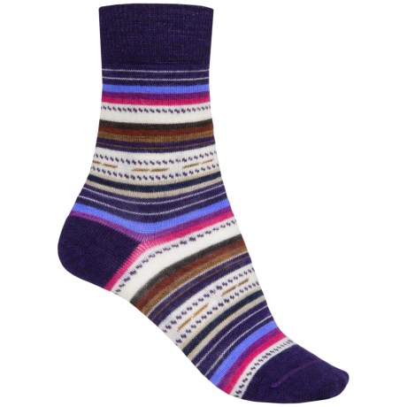 SmartWool Margarita Socks (For Women) in Imperial Purple