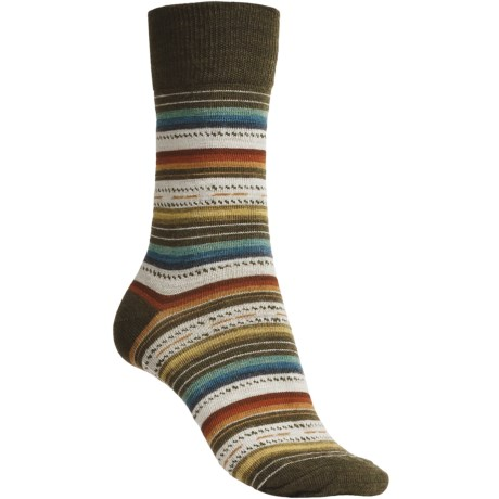 SmartWool Margarita Socks (For Women) in Loden Heather