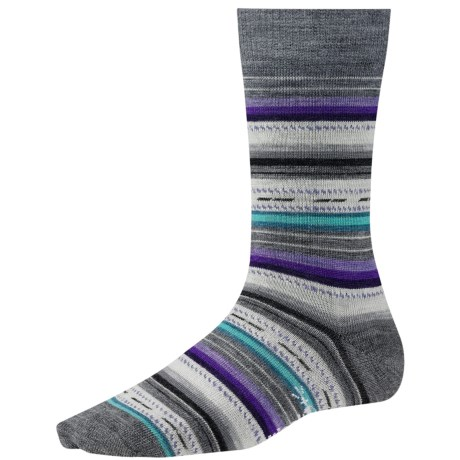 SmartWool Margarita Socks (For Women) in Medium Grey Heather