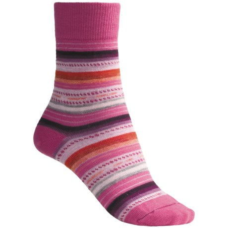 SmartWool Margarita Socks (For Women) in Peony