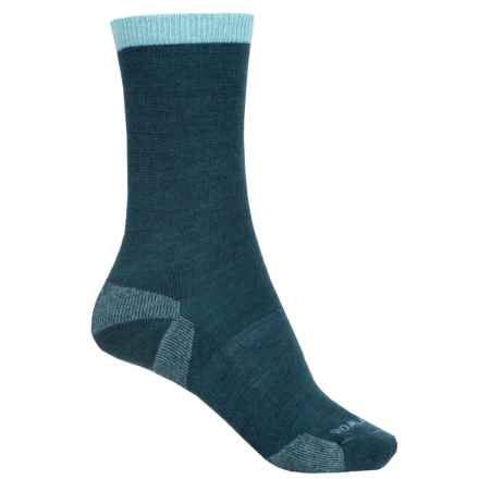 SmartWool Marled Best Friend Socks - Merino Wool, Crew (For Women) in Deep Sea - Closeouts