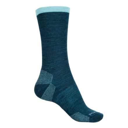 SmartWool Marled Best Friend Socks - Merino Wool, Crew (For Women) in Deep Sea - 2nds