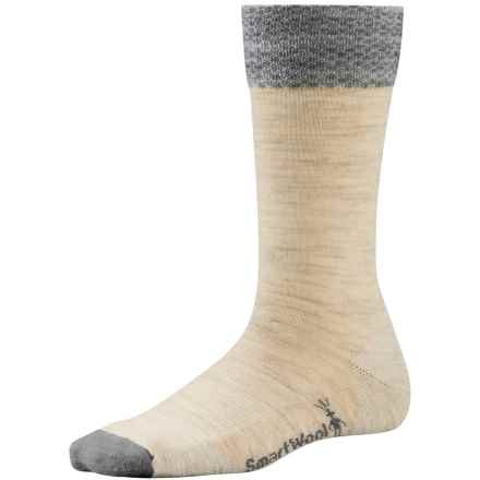 SmartWool Marled Best Friend Socks - Merino Wool, Crew (For Women) in Natural Heather - 2nds