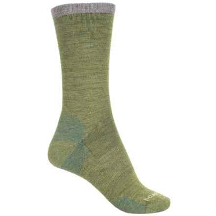 SmartWool Marled Best Friend Socks - Merino Wool, Crew (For Women) in Pesto - Closeouts