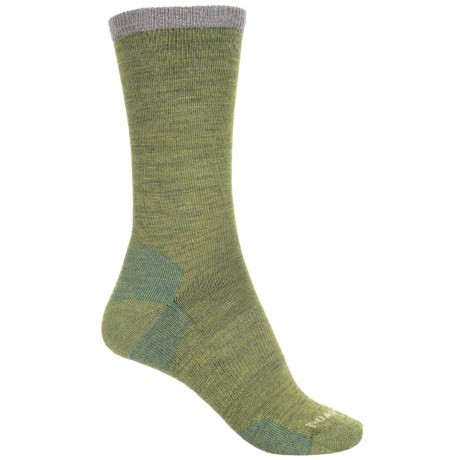 SmartWool Marled Best Friend Socks - Merino Wool, Crew (For Women) in Pesto