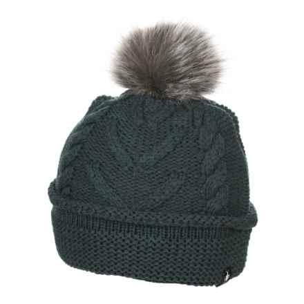 SmartWool Marquette Beanie - Merino Wool (For Women) in Lochness Heather - Overstock