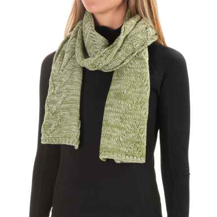 SmartWool Marquette Scarf - Merino Wool (For Women) in Light Loden Heather - Closeouts