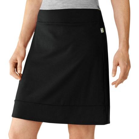 SmartWool Maybell Skirt - Merino Wool (For Women) in Black