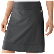 SmartWool Maybell Skirt - Merino Wool (For Women) in Graphite - Closeouts