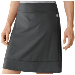 SmartWool Maybell Skirt - Merino Wool (For Women) in Graphite