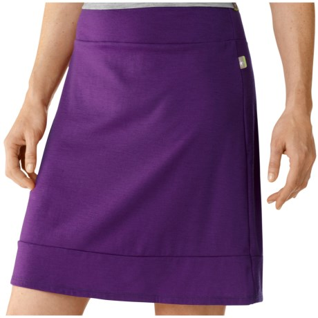 SmartWool Maybell Skirt - Merino Wool (For Women) in Purple Dahlia