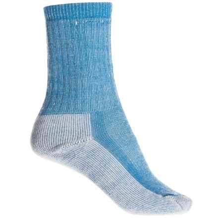 SmartWool Medium Cushion Hiking Socks - Merino Wool, Crew (For Women) in Bright Blue Heather - Closeouts