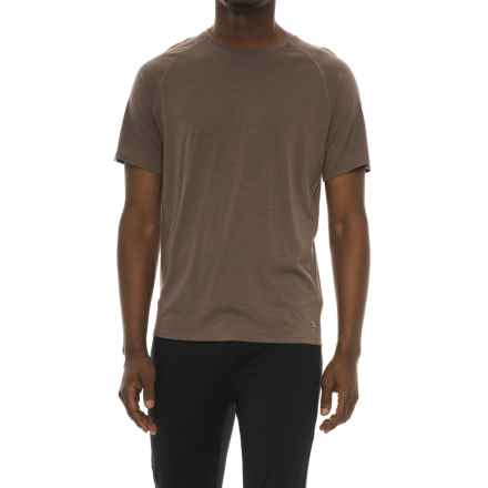 SmartWool Merino 150 Base Layer Top - Merino Wool, Short Sleeve (For Men) in Taupe - Closeouts