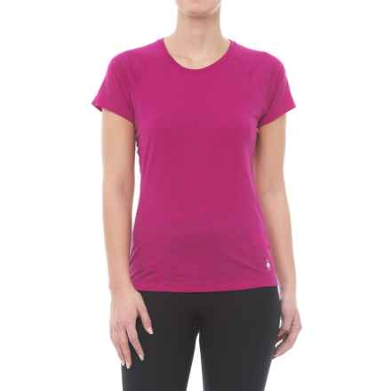 SmartWool Merino 150 Base Layer Top - Merino Wool, Short Sleeve (For Women) in Berry - Closeouts