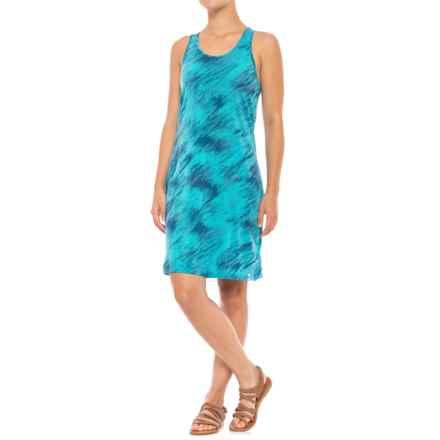 SmartWool Merino 150 Pattern Dress - Racerback, Sleeveless (For Women) in Light Capri - Closeouts
