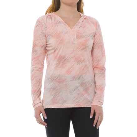 SmartWool Merino 150 Pattern Hoodie - Merino Wool (For Women) in Pink Horizon - Closeouts