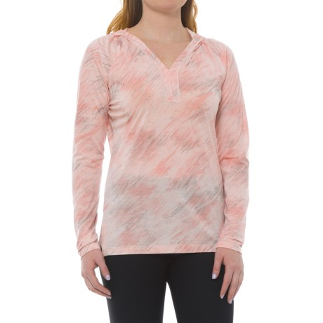 SmartWool Merino 150 Pattern Hoodie - Merino Wool (For Women) in Pink Horizon