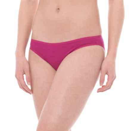 SmartWool Merino 150 Pattern Panties - Merino Wool, Bikini (For Women) in Berry - Closeouts
