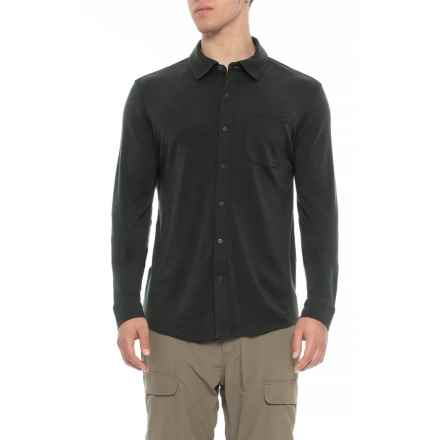 SmartWool Merino 250 Button-Down Shirt - Long Sleeve (For Men) in Olive Heather - Closeouts