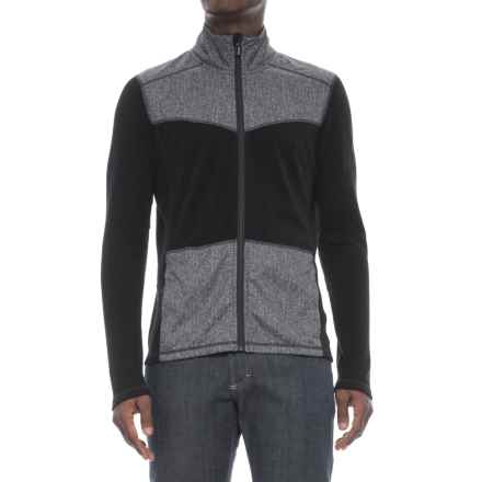 SmartWool Merino 250 Pattern Sport Shirt Jacket - Merino Wool (For Men) in Black - Closeouts