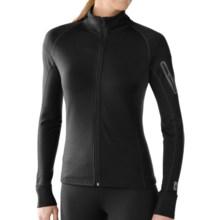 SmartWool Merinomax Jacket - Merino Wool (For Women) in Black - Closeouts