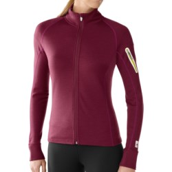 SmartWool Merinomax Jacket - Merino Wool (For Women) in Wine