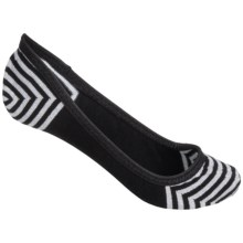 SmartWool Metallic Stripe Sleuth Socks - Merino Wool, Lightweight (For Women) in Black - Closeouts