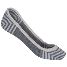 SmartWool Metallic Stripe Sleuth Socks - Merino Wool, Lightweight (For Women) in Light Gray Heather - Closeouts
