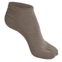 SmartWool Micro Toe Socks - Merino Wool (For Men and Women) in Taupe - 2nds