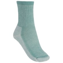 SmartWool Mid Crew Hiking Socks - Merino Wool (For Women) in Mineral - 2nds