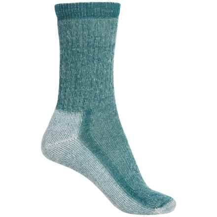 SmartWool Mid Hiking Socks - Merino Wool, Crew (For Women) in Deep Sea - 2nds