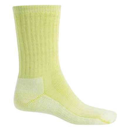 SmartWool Mid Hiking Socks - Merino Wool, Crew (For Women) in Limelight - 2nds