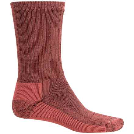 SmartWool Mid Hiking Socks - Merino Wool, Crew (For Women) in Mahogany - 2nds