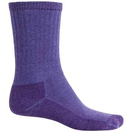 SmartWool Mid Hiking Socks - Merino Wool, Crew (For Women) in Polar Purple - 2nds