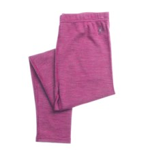 SmartWool Midweight Base Layer Bottoms - Merino Wool (For Kids) in Magenta - Closeouts