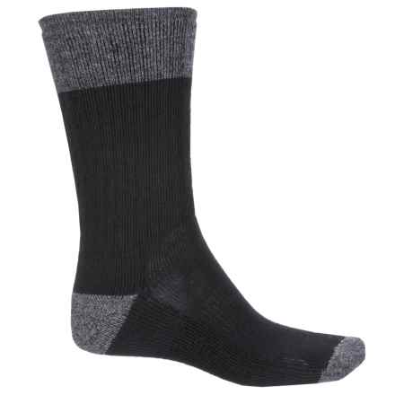 SmartWool Midweight Heathered Hiking Socks - Merino Wool, Crew (For Men) in Black - Closeouts