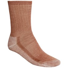 SmartWool Midweight Hiking Socks - Merino Wool, Crew (For Men and Women) in Carmel - 2nds
