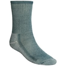 SmartWool Midweight Hiking Socks - Merino Wool, Crew (For Men and Women) in Deep Sea - 2nds