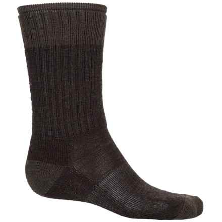 SmartWool Midweight Hiking Socks - Merino Wool, Crew (For Women) in Chestnut - 2nds