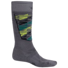 SmartWool Midweight Ski Socks - Merino Wool, Over-the-Calf (For Men and Women) in Graphite - 2nds