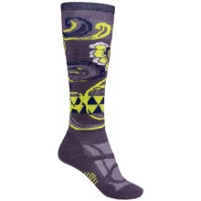 SmartWool Midweight Ski Socks - Merino Wool, Over the Calf (For Women) in Desert Purple - Closeouts