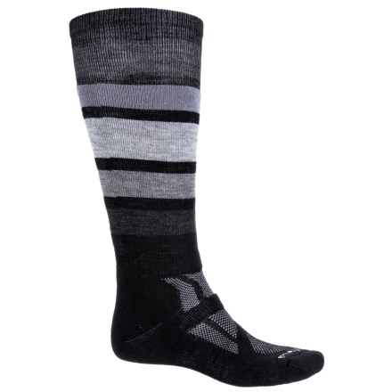 ed34a69d91ef SmartWool Midweight Snowboard Socks- Merino Wool, Over the Calf (For Men) in