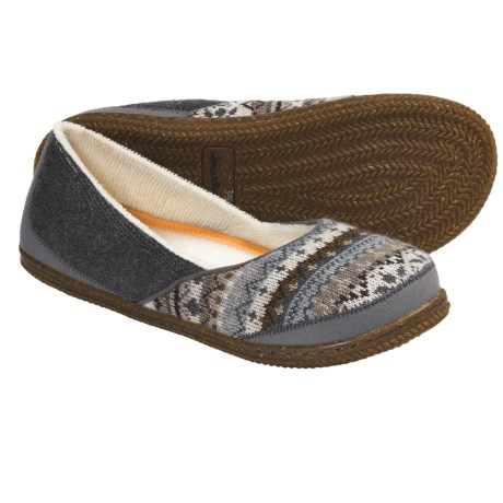 SmartWool Morning Ballet Slippers (For Women) in Grey