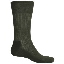 SmartWool Nailhead Grid Casual Socks - Merino Wool (For Men) in Forest - 2nds