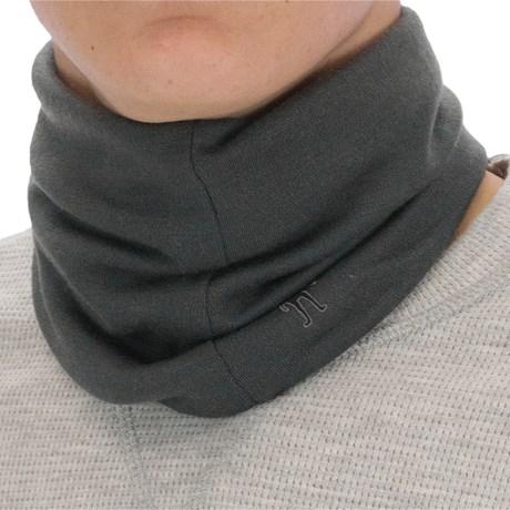 SmartWool Neck Gaiter (For Men and Women) in Light Pastel Grey