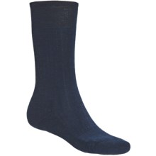 SmartWool New Classic Rib Casual Socks - Crew (For Men) in Dark Navy - 2nds