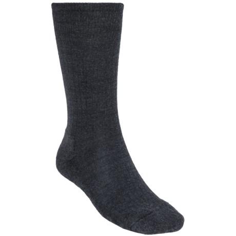 SmartWool New Classic Rib Casual Socks - Crew (For Men) in Grey